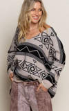 Aztec Loose fit Sweater by POL