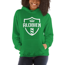 Load image into Gallery viewer, alobien Front Logo Unisex Hoodie 10 Colors