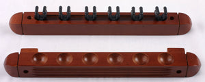 6 Cue 2-PC Wall Rack