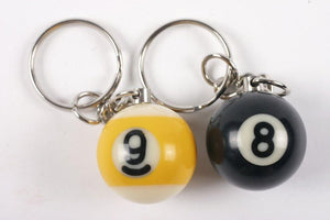 "1"" 8/9 Ball Key  Chain"