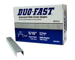 DUO FAST STAPLES
