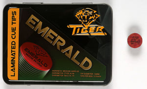 Tiger Emerald Laminated Cue Tip