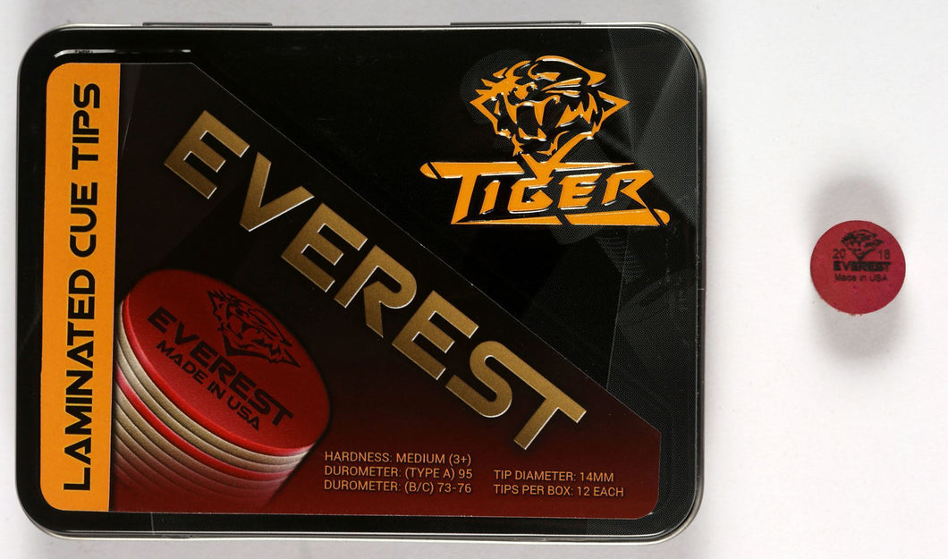 Tiger Everest Laminated Cue Tip