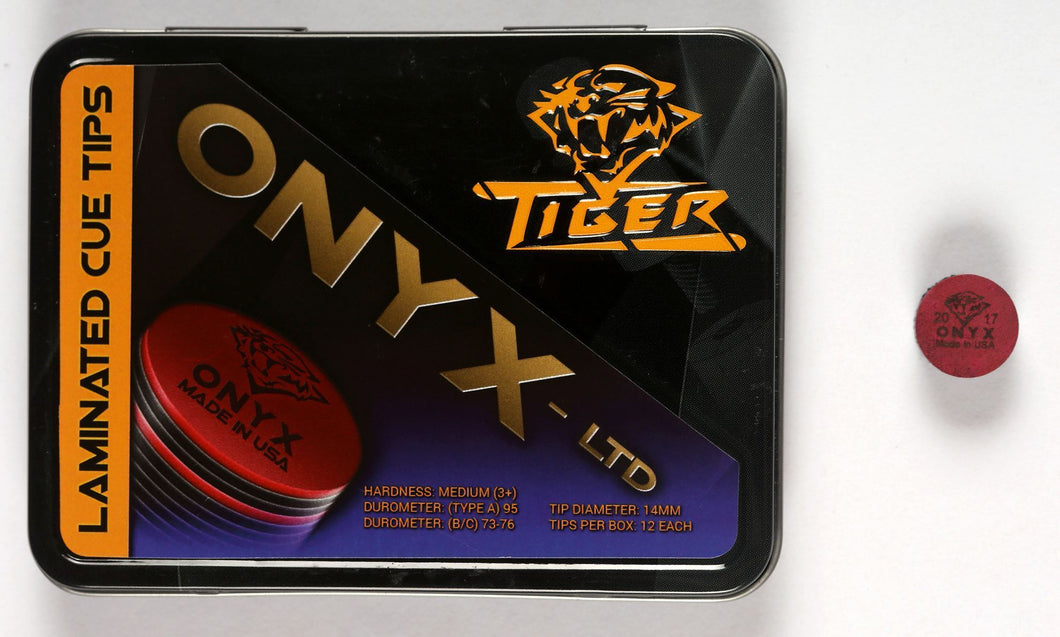 Tiger Onyx Laminated Cue Tips