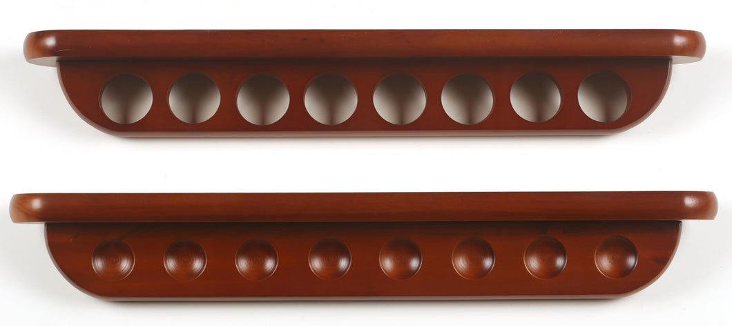 8 Cue 2-pc Wall Rack