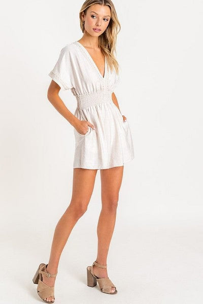 Lace Smoked Romper