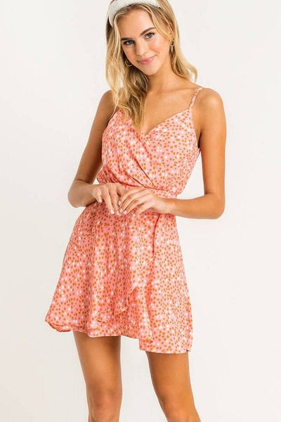 Lush-Layered Mini Dress