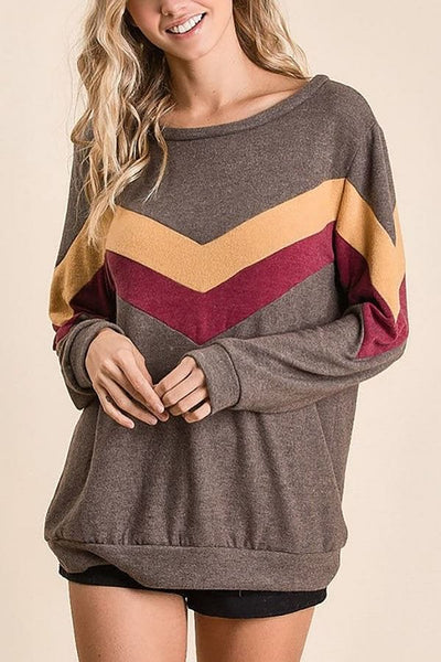 Banded Soft Knit Top