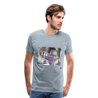The Chef Purple Tape Men's Premium T-Shirt - heather ice blue