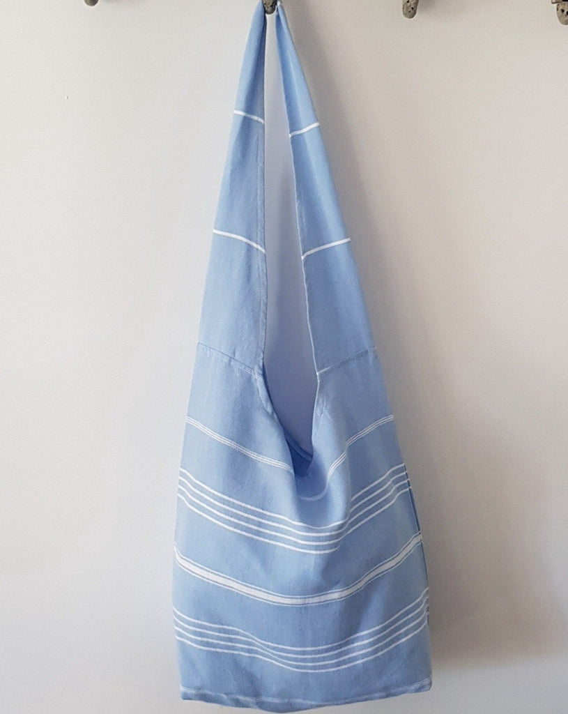 Bodrum Beach Bag - Soft Blue