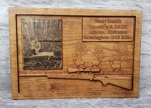 Customizable Hunting Plaque