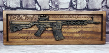 Load image into Gallery viewer, AR-15 Rifle With The U.S. Constitution Behind It