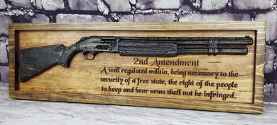 Shotgun With Second Amendment