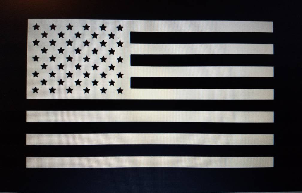 American Flag Vinyl Decal