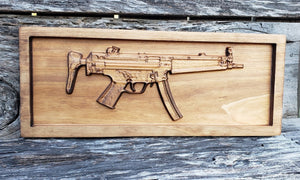 MP5A3 Submachine Gun