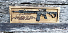 Load image into Gallery viewer, AR-15 Rifle With Second Amendment