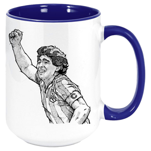 Diego Maradona Win Mug - Coffee Mug