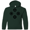 PlayStation Buttons Youth Hoodie cult retro Adult kids Unisex