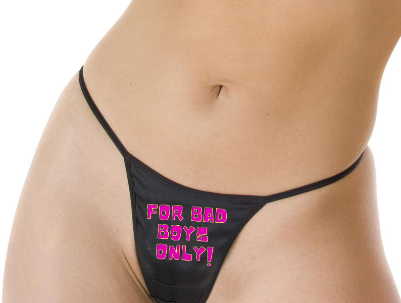 For Bad Boys Only - Thong
