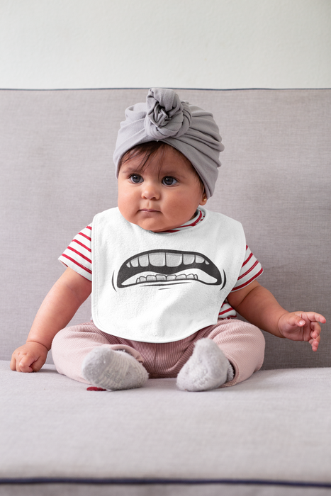 Funny Mouth Baby Bibs