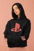PlayStation Youth Hoodie Gamer Gaming logo cult retro Adult kids Unisex