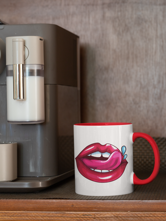 Sexy Kiss - Coffee Mug