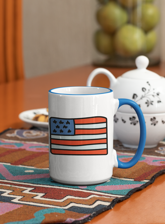 USA Flag Mug - Coffee Mug