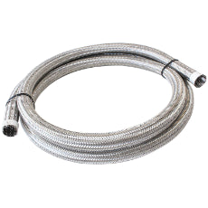 111 Series Stainless Steel Braided Cover 9/16'' (14mm) I.D 4.5 Metre Length