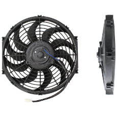 12'' Electric Thermo Fan Curved Blades, 12-13/64'' (310mm) Mount Dia