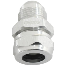 1/2'' Barb to -8AN Adapter Silver Finish