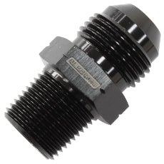 1/2'' BSPT to -8AN Adapter Black Finish