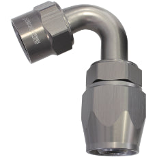 Kryptalon® Series Lightweight One Piece Swivel 120° Hose End -10AN Titanium Finish. Suits Kryptalon® Series Hose