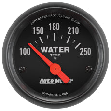 Z-Series Water Temperature Gauge 2-1/16'', Short Sweep Electric, 100-250°F