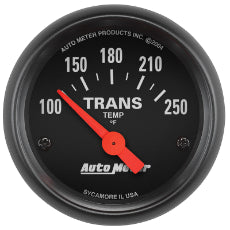 Z-Series Transmission Temperature Gauge 2-1/16'', Short Sweep Electric, 100-250°F