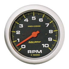 Pro-Comp Series Tachometer 3-3/8'', In-Dash, Electric, 0-10,000 rpm
