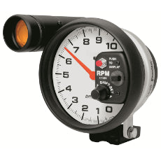 Phantom Series Monster Shift-Lite Tachometer 5'', Pedestal Mount,, 0-10,000 rpm