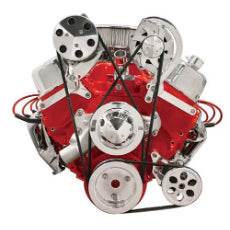 Independent Mount BracketsSuit BB Chev Top Mount Alternator (Short W/P)