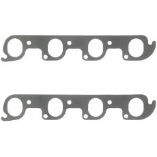 Perforated Steel Exhaust Gasket SetSuit Ford 302-351C 2V Heads 1.56'' x 1.98''