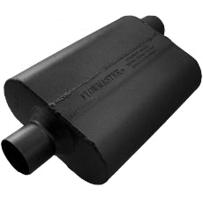 40 Series Delta Flow Muffler2.5'' Center Inlet / Offset Outlet