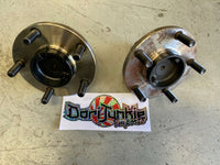 Front Hubs - Pair. Suits Nissan 300ZX & Z32