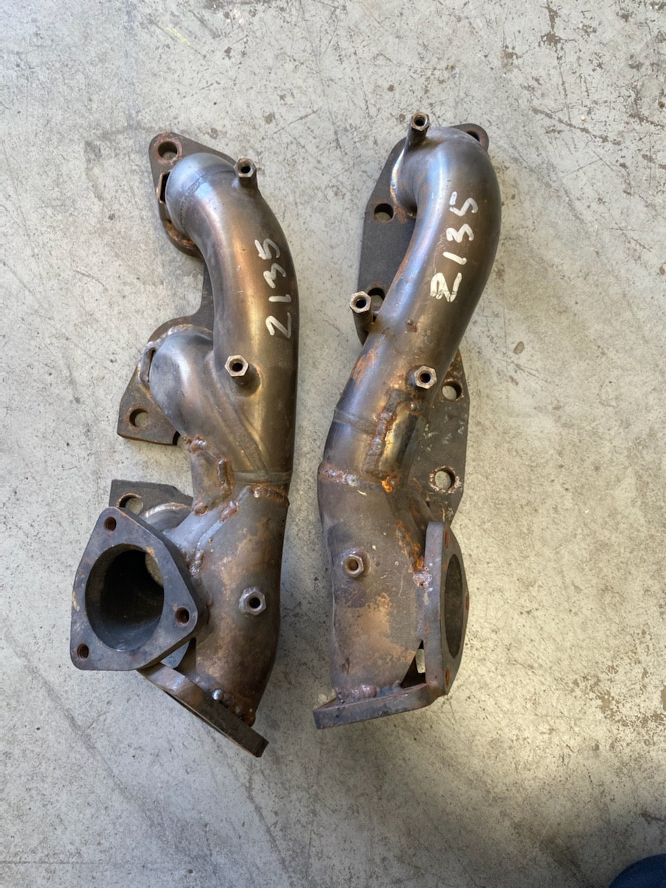 Turbo Exhaust Manifold - Pair, Suits Nissan 300ZX & Z32
