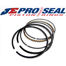Premium Race Series Piston Ring Set - J100 Low Tension 4.145'' Bore, 1/16'' Top Ring, 1/16'' Second Ring, 3/16'' Oil Ring