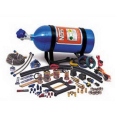 Dual Shot Cheater Nitrous Kit100-250 Horsepower. Suit Square-Bore Carbs.