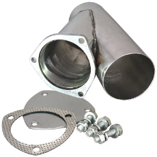 4'' Stainless Steel Y-Branch Cutoutwith Flange
