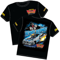 King Kong' Pontiac Trans-Am Outlaw Nitro Funny Car T-Shirt Toddler 4