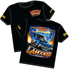 L.A. Hooker' Plymouth Arrow Outlaw Nitro Funny Car T-Shirt Medium