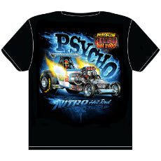 Psycho' Nitro Hot Rod T-Shirt X-Large