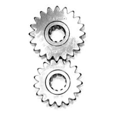 10-Spline Sportsman Series Quick Change Gear Set Gear Set No. 08K (17/20 Teeth, 1.176 Spur Ratio)