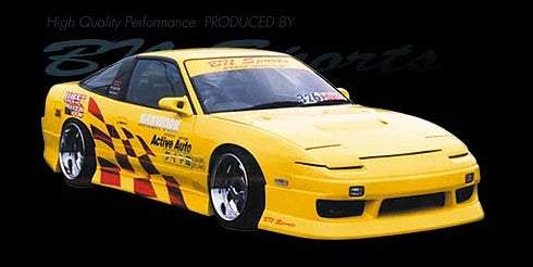 BN Sports Suits Nissan 180SX Type III Body Kit