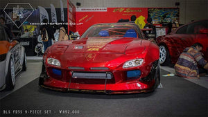 BN-Sports Aero Bodykits - BLS Luxury Sports Mazda FD
